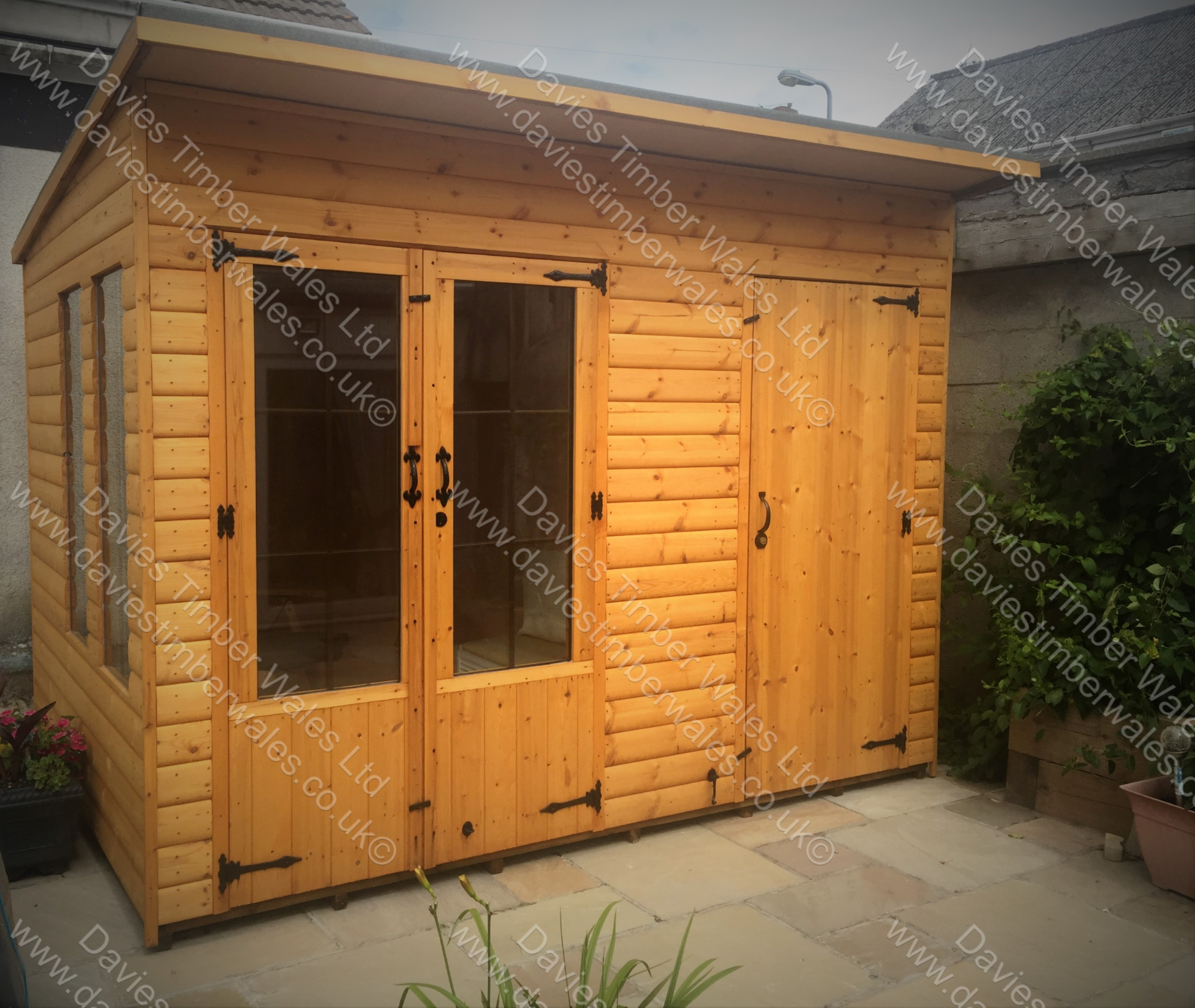 10 x 7 Summer House & Shed