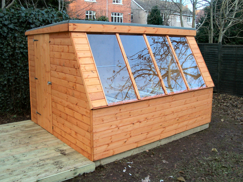 Solar House Potting Shed