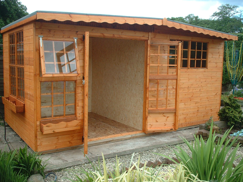 Summer House & Shed Combined