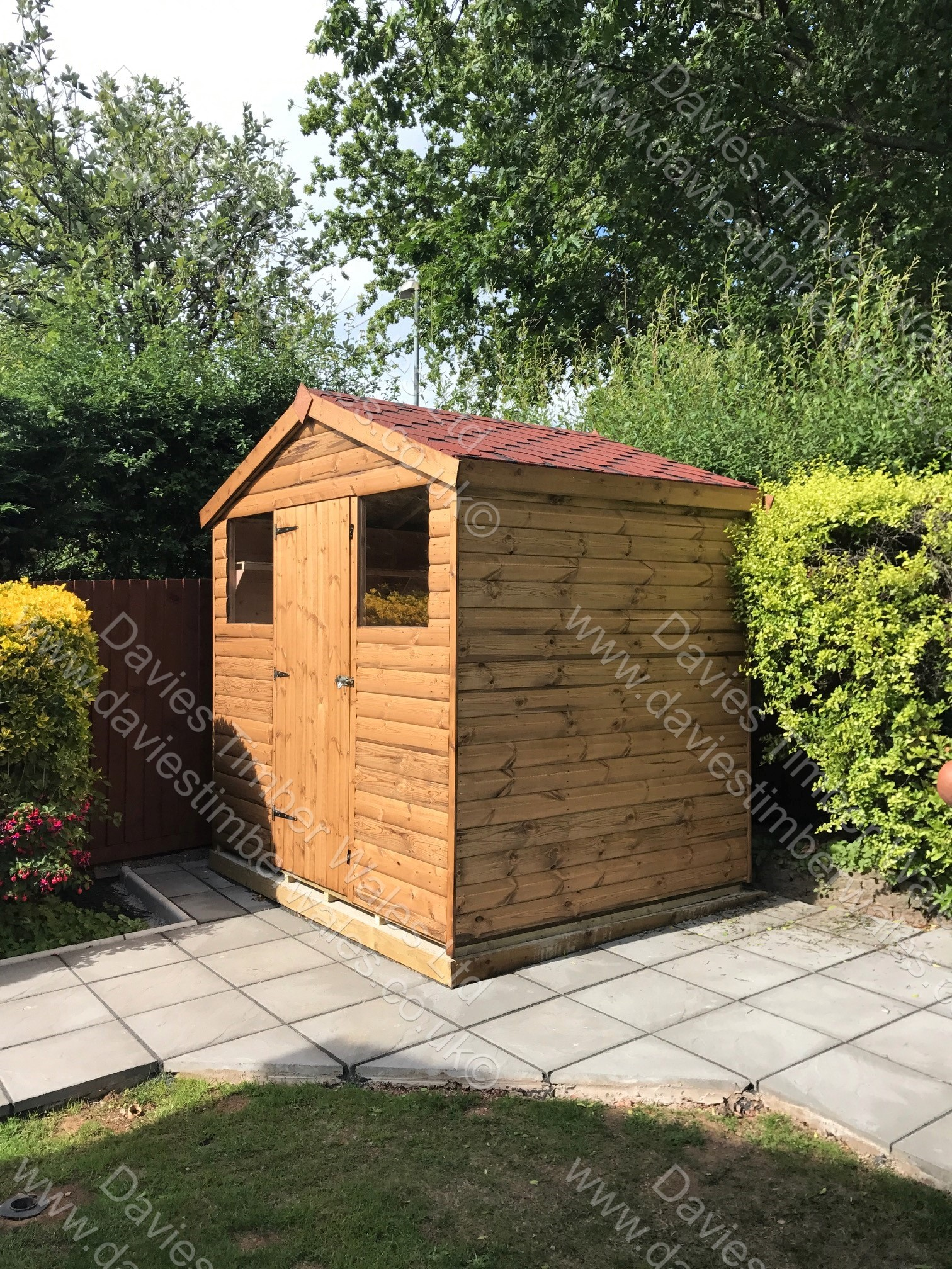 7 x 5 Apex Shed