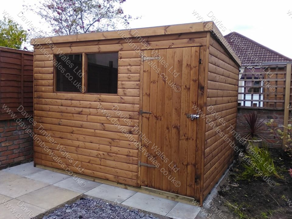 Pent Roof Shed