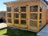 10 x 8 Log Lap Summer House