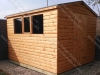 Deluxe Apex Shed 10 x 8 Log Lap