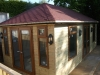 A Summer house Pressure Treated