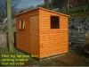 Shed Pent Roof