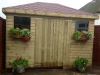 Garden Shed Pressure Treated