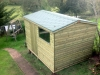 Apex Garden Shed Pressure Treated