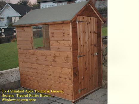 Apex Timber shed
