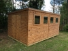 Jumbo Pent Roof Shed