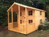 Children's Wendy House with upstairs