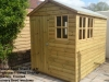 Deluxe Apex Shed