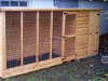 Dog Kennel & Run Tongue & Groove
