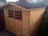 Apex Timber Shed Log Lap