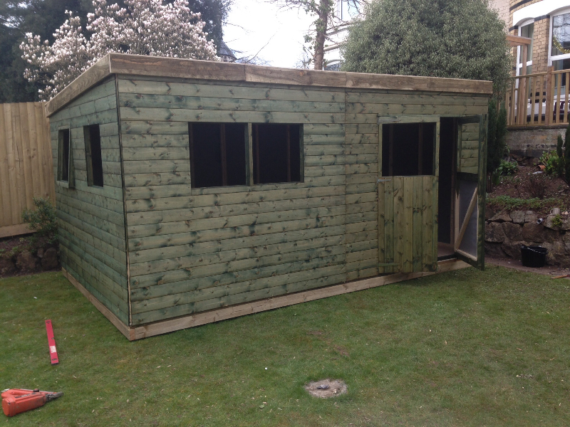 Garden Shed Pent