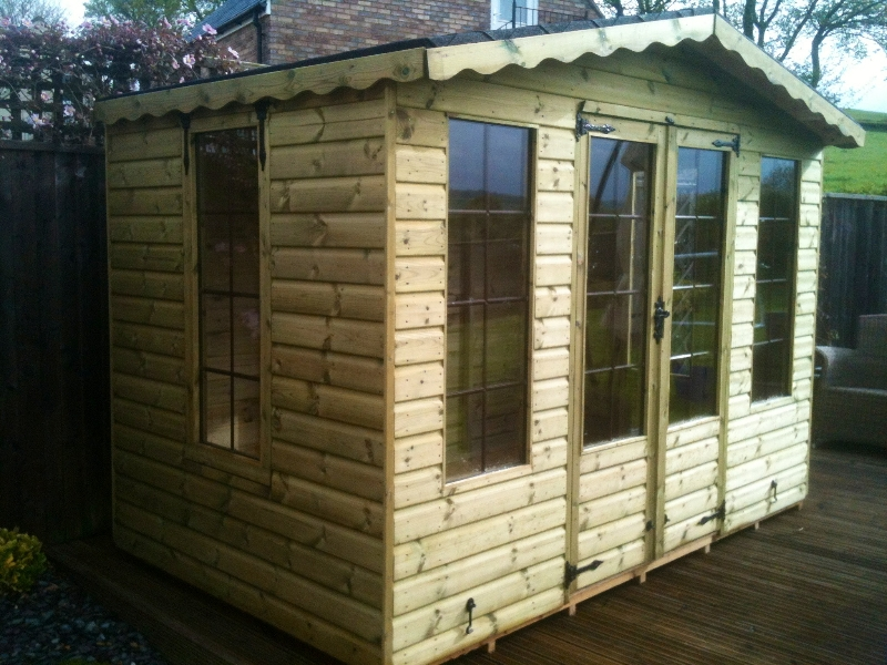 Pressure Treated Summerhouse
