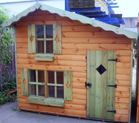 Children's Play House with upstairs